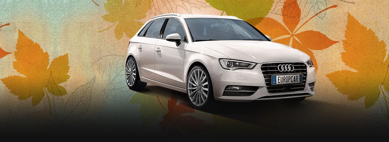 Audi A3 za samo 30 Eur/dan