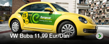 Europcar Rent A Car Belgrade Airport